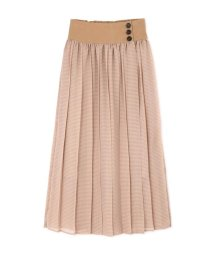 ROSE BUD/シアーチェックカラースカート/501473839
