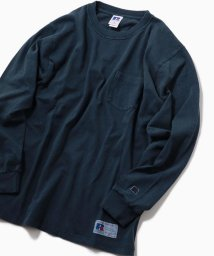 SHIPS MEN/RUSSELL ATHLETIC×SHIPS: 別注 ユーズド加工 ロングTシャツ 19SS/501478899