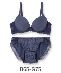 fran de lingerie/Nudy PushUP -smooth- ヌーディープッシュアップスムース ブラ&ショーツセット B65-G75カップ/500654419