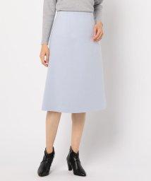 NOLLEY'S sophi/ウールトラペーズスカート/501470374