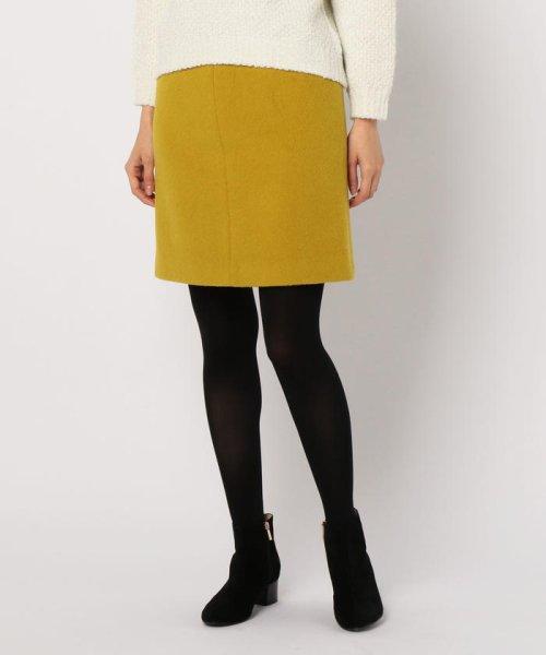 NOLLEY'S(ノーリーズ)/アルパカ混シャギーAラインスカート/8-0035-6-06-011