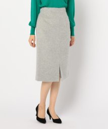 NOLLEY'S/アルパカシャギータイトスカート/501470382
