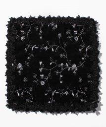 axes femme/バラレース刺繍ハンカチ/501471935