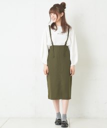 NICE CLAUP OUTLET/ツイルタイトスカートワンピ/501473452