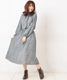 NICE CLAUP OUTLET/花柄プリントワンピース/501473465