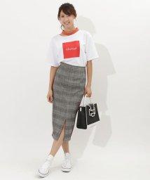 SAMANTHAVEGA/チェックラインスカート S/501480684