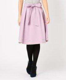 MISCH MASCH/裾配色フレアスカート/501272677