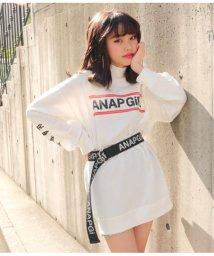 ANAP GiRL/ミニリブネックワンピース/501465133