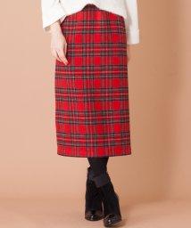 en recre/【GALENA】チェックタイトスカート/501471280