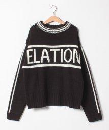 Lovetoxic/インパクトロゴラインセーター/501472386