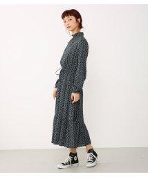 Avan Lily/Minimal FlowerハイネックOP/501480524