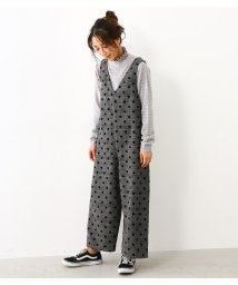 RODEO CROWNS WIDE BOWL/CHECK DOT サロペット/501480625