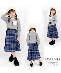 RiCO SUCRE/ファーポケットトレーナー/501482572