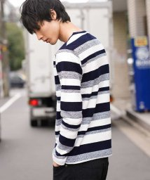MK homme/カットソー(ブークレループボーダー)/501483719