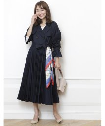 Rirandture/【美人百花 3月号掲載】スカーフ付きドレストレンチコート/501485948