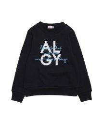 ALGY/ニコ☆プチ12月号掲載   カサナリロゴトレーナー_裏起毛/501374630