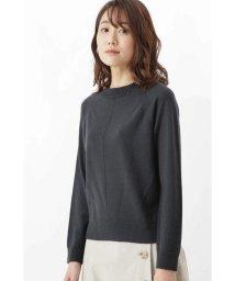 HUMAN WOMAN/柄編み使いラグランプルオーバー/501456685