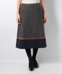 CARA O CRUZ/【特別提供品】【セットアップ対応商品】配色切替スカート/501472582