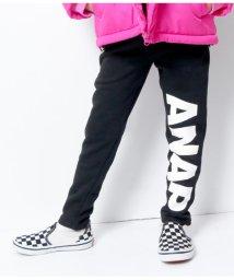 ANAP KIDS/裏起毛ロゴプリントパンツ/501473623