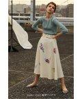 PROPORTION BODY DRESSING/《BLANCHIC》レトロフラワースカート/501479548
