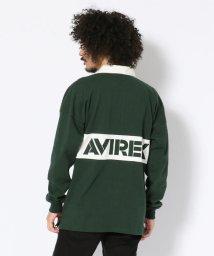 AVIREX/【WEB&DEPOT限定】ラガーシャツ/RUGGER SHIRT/501486452