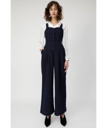 moussy/FRONT BUTTON オーバーオール/501486834