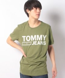 TOMMY JEANS/コットン ロゴTシャツ/500200041