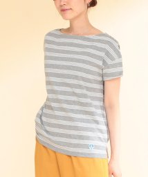 Ray BEAMS/ORCIVAL / ボーダー Tシャツ/500883360