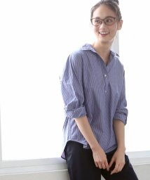 coen/【LEE4月号掲載・定番アイテムがリニューアル】2WAYカシュクールシャツ/501442336