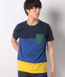 TOMMY HILFIGER MENS/カラーブロックレギュラーフィットTシャツ/501470972