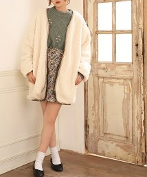 NICE CLAUP OUTLET/【one after another】リバーシブルボアアウター/501472397