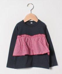 b-ROOM/【EC別注】ビスチェレイヤード風Tシャツ/501476176