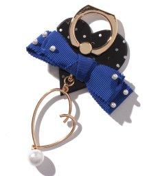 LANVIN en Bleu(BAG)/スマホリング(リボン/ハート)/501476847