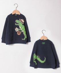 kladskap/恐竜プリント裏毛トレーナー/501478431
