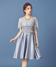 MIIA/レーストップス付きドレス/501485925