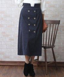 Primazel/ハイウエスト コーデュロイ Aラインスカート/501487848
