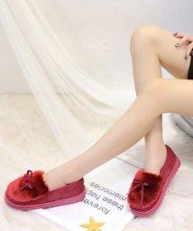 Amulet/ふわふわモカシン 韓国 ファッション レディース ふんわり かわいい あったか 履き心地【A/W】【vl-5309】/501487849