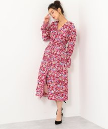 Jewel Changes/SMF HW PE 小花Wギャザー ワンピース / 花柄 / フラワー/501488017