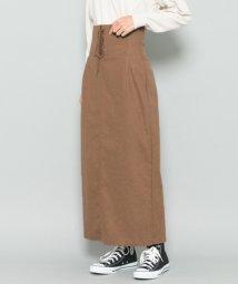 URBAN RESEARCH/【SENSEOFPLACE】レースアップロングタイトスカート/501449705