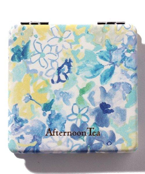 Afternoon Tea LIVING(アフタヌーンティー・リビング)/フラワー柄ミニミラー/FD5318110761