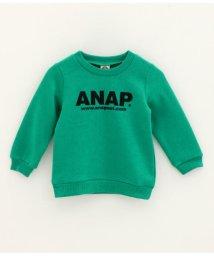 ANAP KIDS/アドレスロゴ裏起毛トップス/501473624