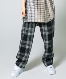 monkey time/<monkey time> FLANO BLACK OMBRE WIDE 1P EASY PANTS/パンツ/501488788