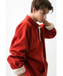 monkey time/<monkey time> BACK SHAGGY PULLOVER STAND/スウェット/501491064