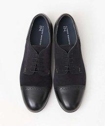 ALFREDOBANNISTER/【極上の柔らかさ】踏み履きブローグストレートチップシューズ/501491435
