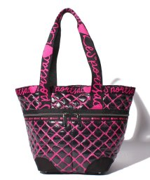 LeSportsac/MED MANON TOTE ハグミーホットピンク/LS0021180