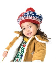 Petit jam / F.O.KIDS MART/ネコモチーフのニットベレー帽/501209209