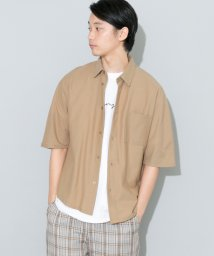 URBAN RESEARCH/【SENSEOFPLACE】ドルマンスリーブシャツ(5分袖)/501450035