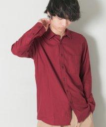 URBAN RESEARCH/【UR】ダブルピーチ起毛レギュラーシャツ/501470693