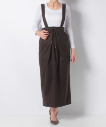 DouDou/【ドゥドゥ】・ヘリンボーンサス付スカート/501478617