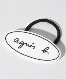 agnes b. ENFANT/GW06 E ELASTIQUE ロゴヘアアクセサリー/501486076